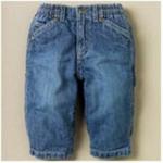 Джинсы - Штанишки джинсовые на 12 мес
