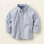 Рубашка - Рубашка в тонкую полоску на 3 и на 4 года. Хлопок
